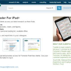 Mobile App Webpage